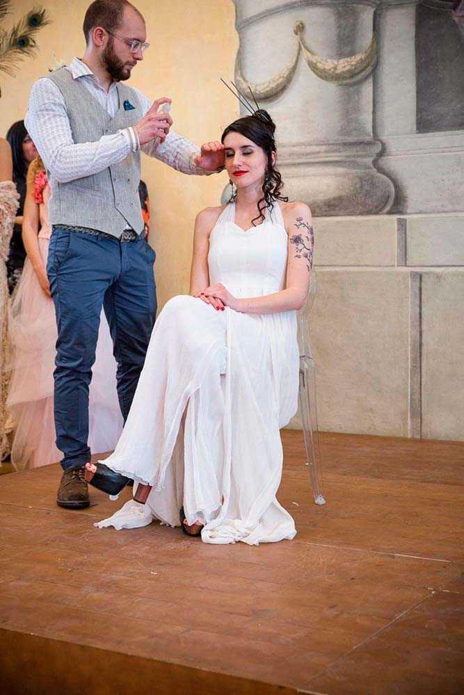 Stile Libero Parrucchieri - sfilata acconciatura matrimonio